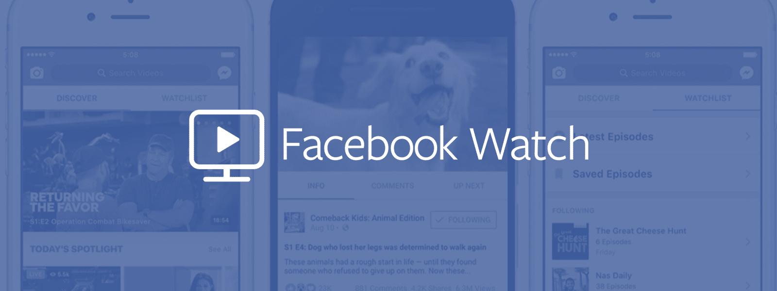 ส่อง Facebook Watch คู่แข่งวิดีโอในอนาคตของ YouTube