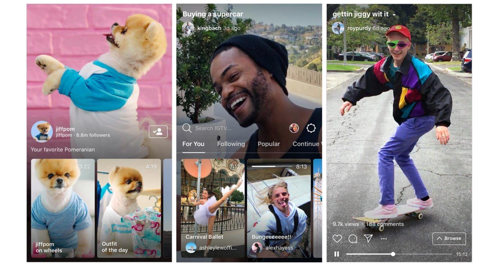 แบรนด์, คนดัง ใช้ IGTV ทำอะไรบ้าง หลัง Instagram เปิดตัวฟีเจอร์วิดีโอยาวแนวตั้ง