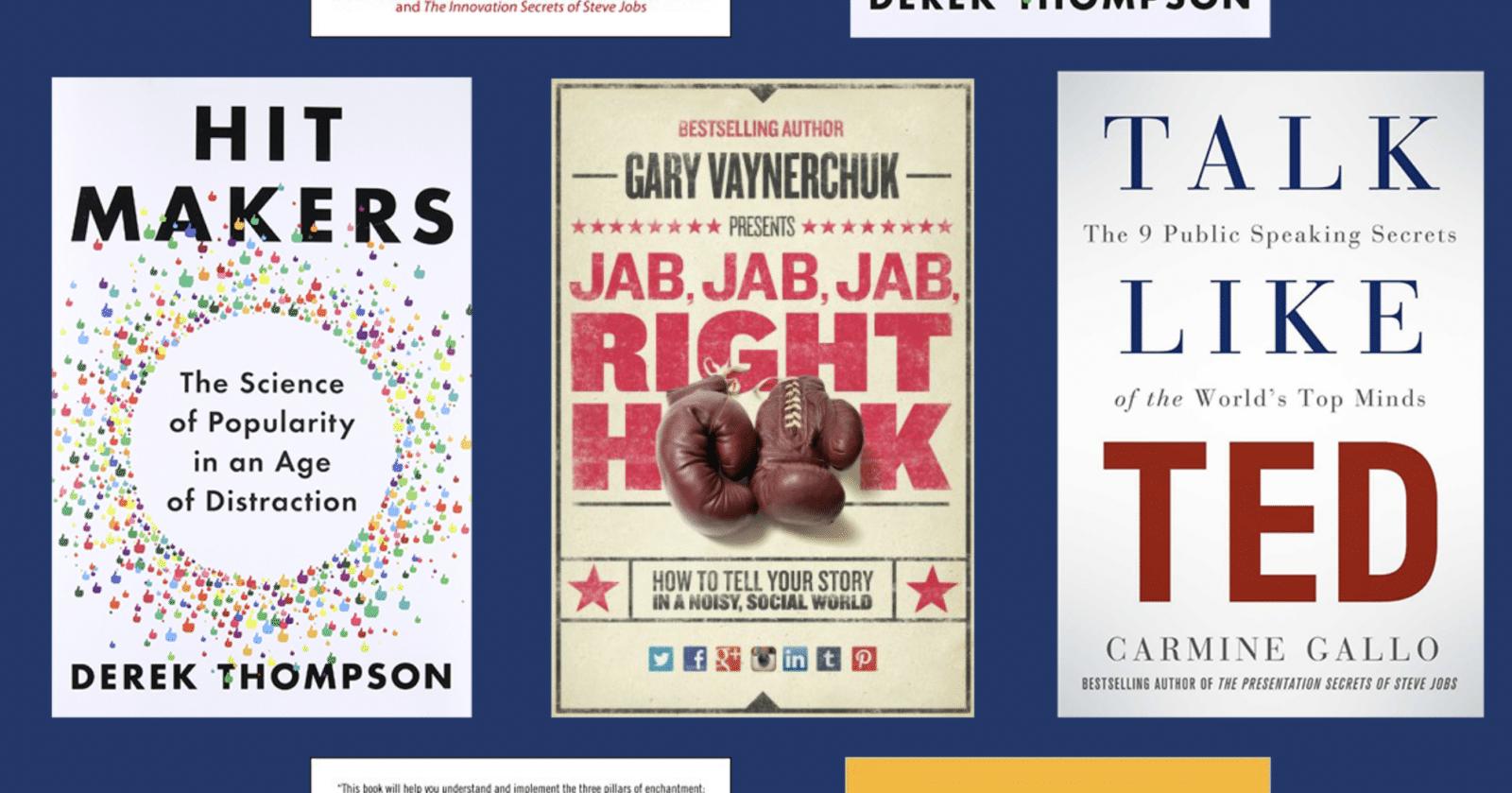 แนะนำ 5 หนังสือ สอนทำคอนเทนต์ให้ลึกถึงระดับจิตใจ