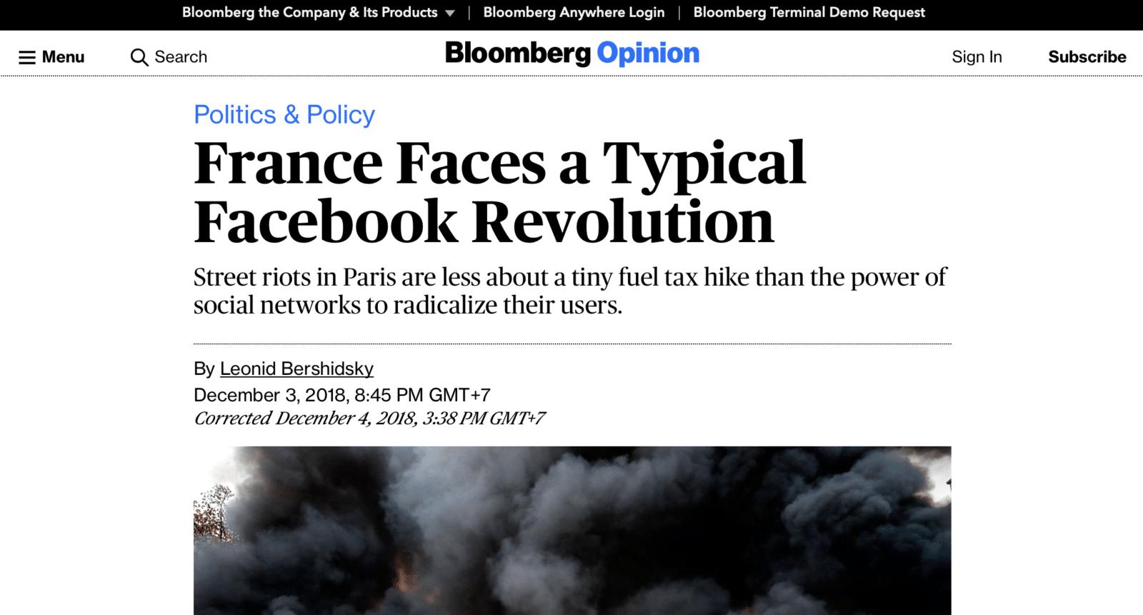 """Facebook ทำให้เกิดการชุมนุม """"เสื้อกั๊กเหลือง"""" ในฝรั่งเศสได้อย่างไร"""