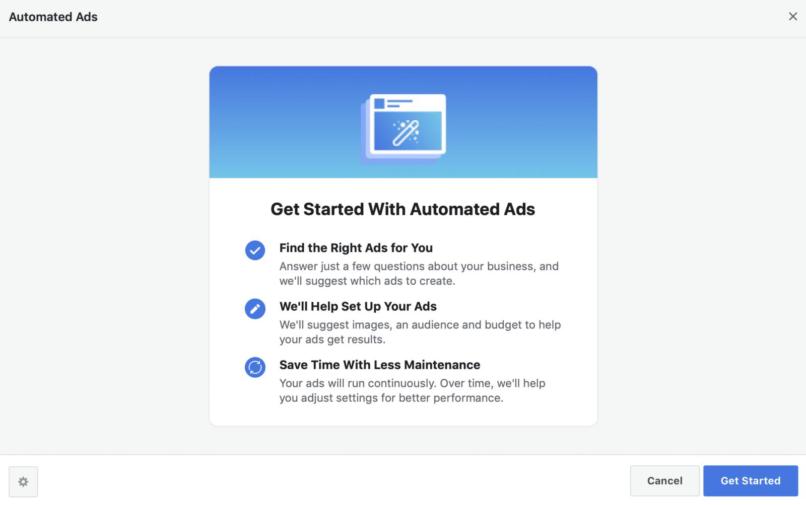 รู้จัก Automated Ads ตั้งงบลงโฆษณาแล้วให้ Facebook บริหารจัดการให้