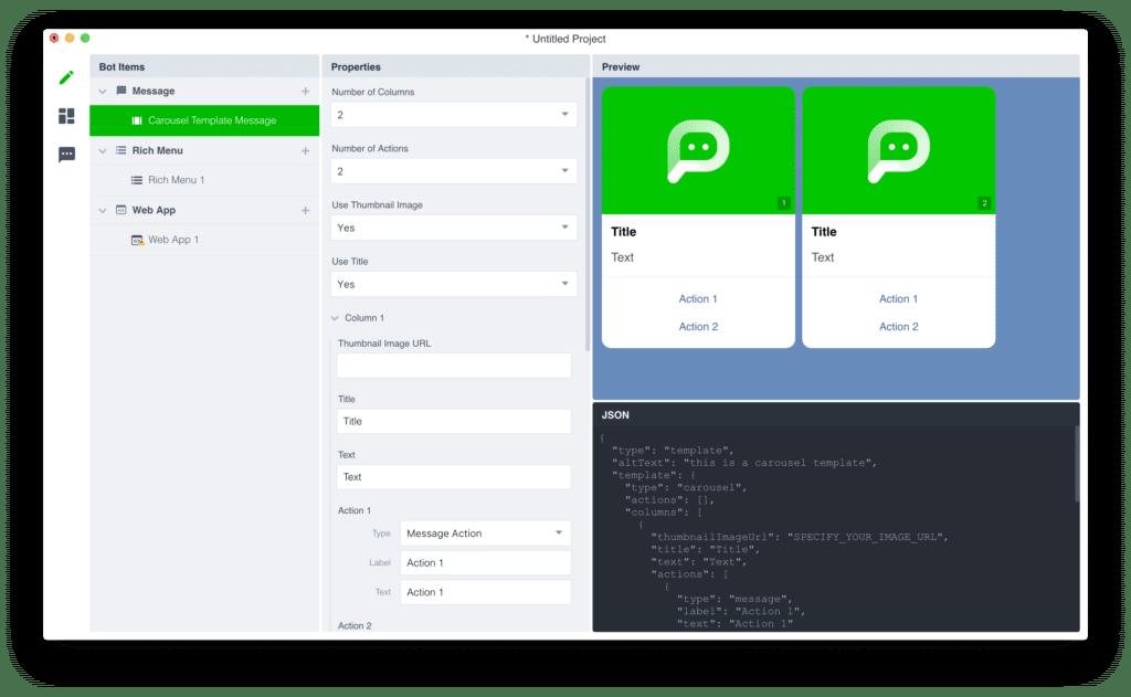 ออกแบบ LINE Chat bot แบบไม่ต้องเขียนโค้ด ด้วย LINE Bot Designer