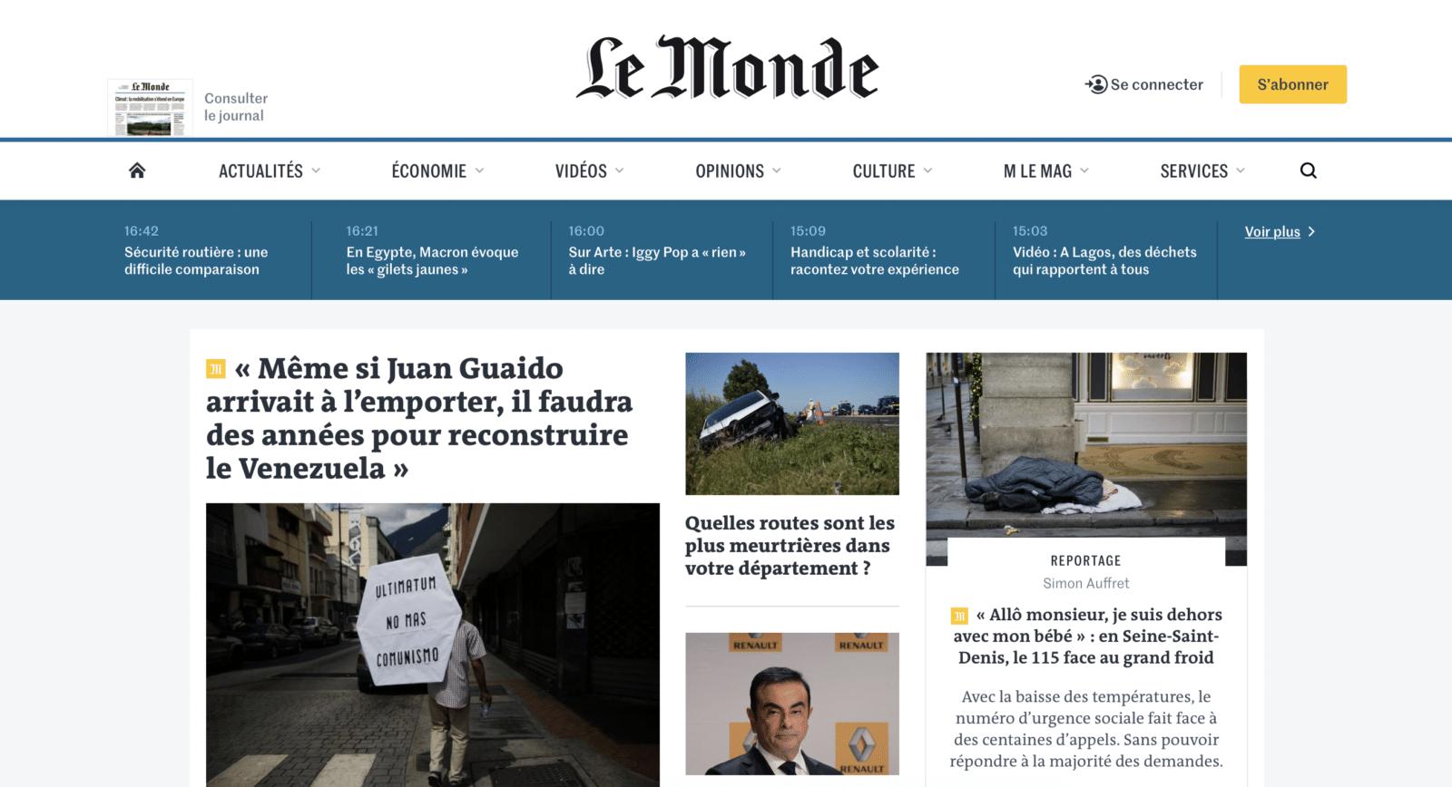 เว็บข่าวฝรั่งเศส ปรับ Design ยังไงให้กระตุ้นคนสมัครเสียเงินอ่านถึง 20%