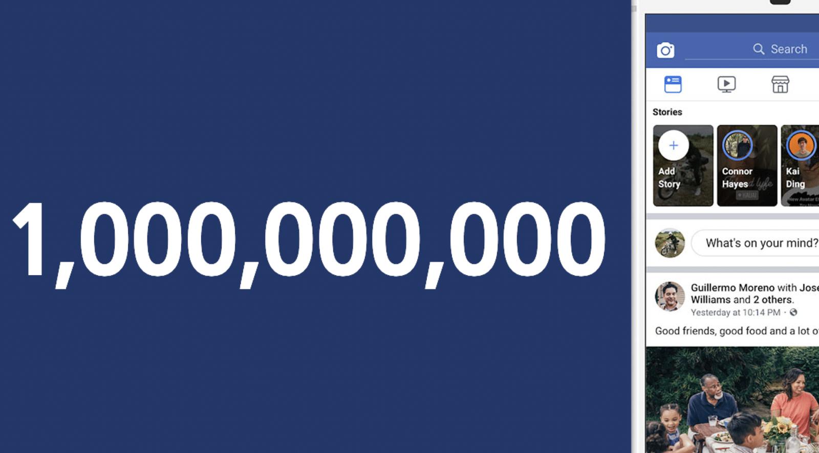 ยอดผู้ใช้งาน Story บน IG, WhatsApp และ Facebook แตะหลักพันล้าน ต่อวันแล้ว