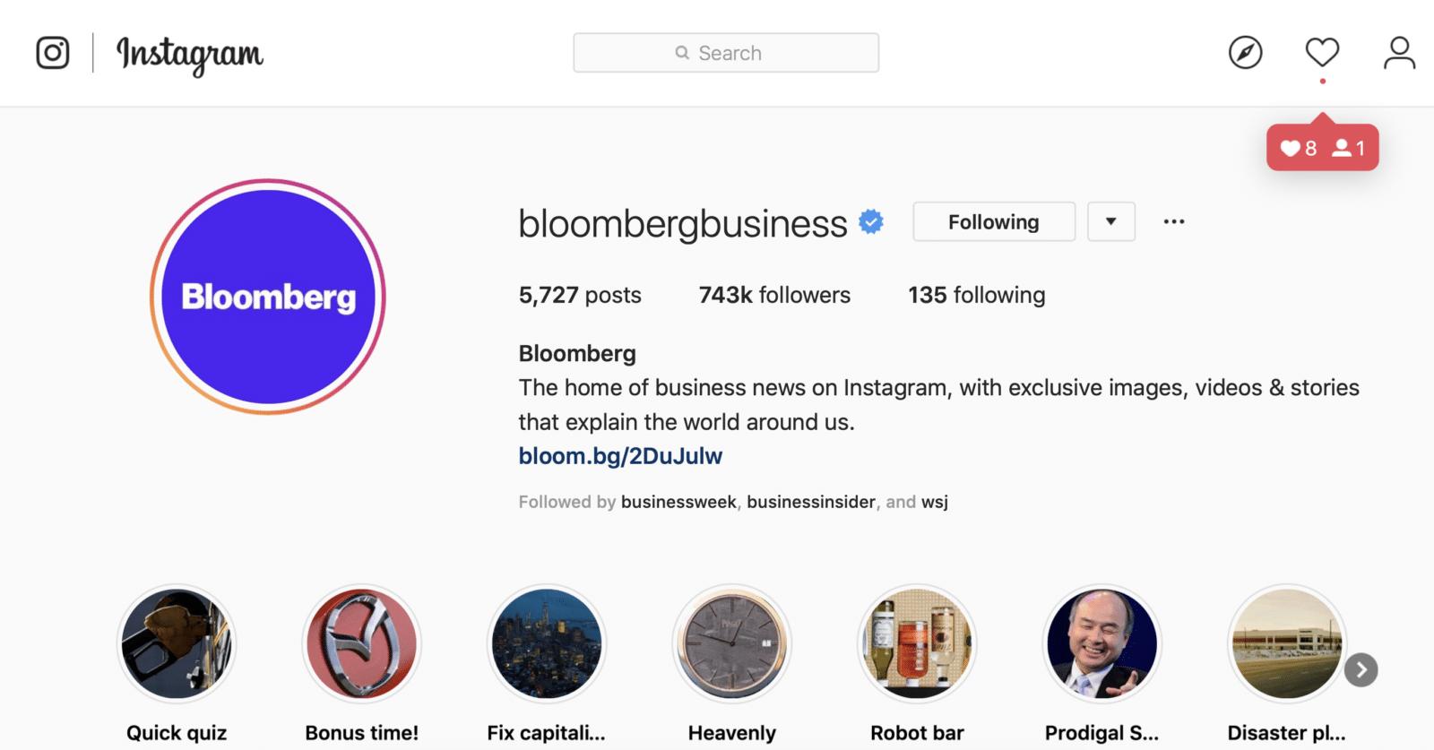 Bloomberg แนะนำ 5 เคล็ดลับทำ Instagram ยังไงให้ปัง ใช้รูป คำคม และ Story