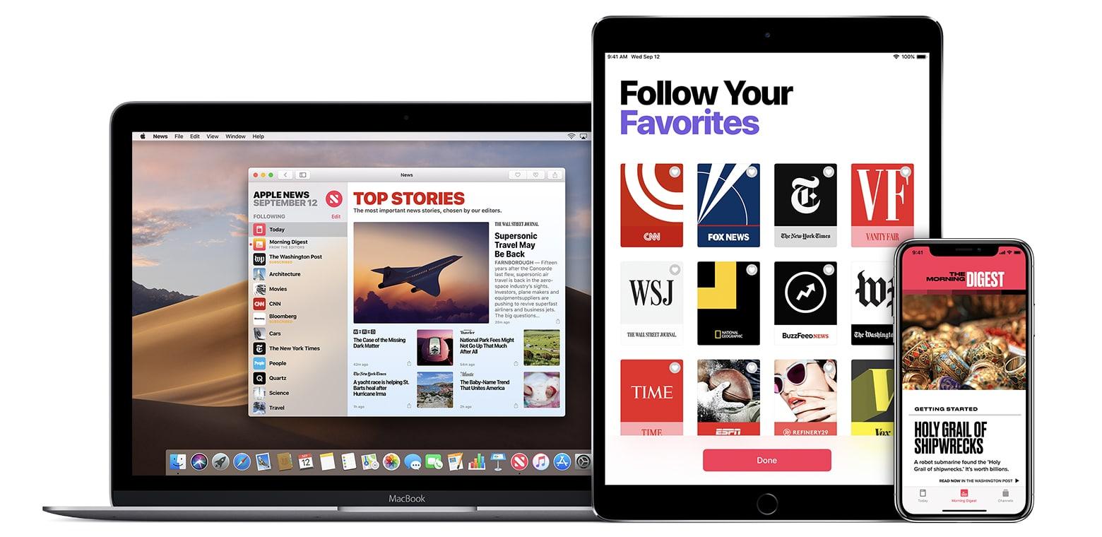จะเกิดอะไรขึ้นเมื่อ Apple เข้าร่วมวงการคอนเทนต์ข่าวด้วย Apple News Subscription