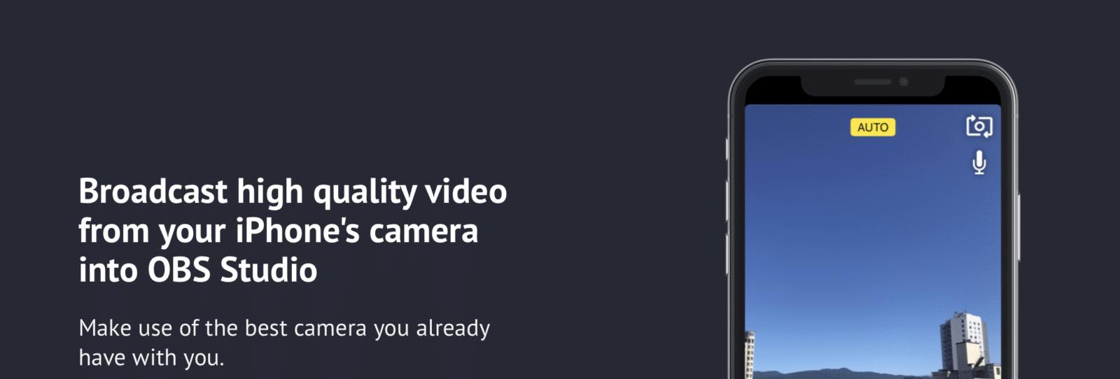 วิธีใช้ iPhone เป็นกล้อง เวลา Live ด้วย OBS ช่วยเพิ่มความโปร และคุณภาพของภาพ