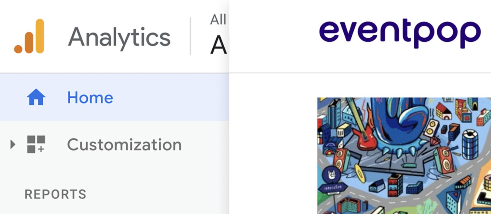 วิธีใส่ Google Analytic ใน Eventpop ดูข้อมูลคนกดบัตรแบบ Realtime