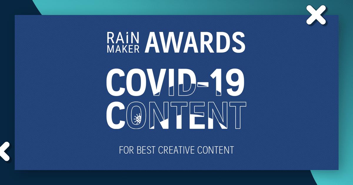 RAiNMaker AWARDS: COVID-19 Content รายชื่อผู้ชนะและผู้เข้าชิงสาขา Best Creative Content